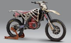 Is a Honda production electric dirt bike next?