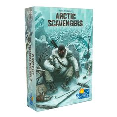 Artic Scavengers | Rio Grande Games  In the year 2097, the entire earth was enveloped in a cataclysmic climate shift, plunging the globe into another ice age.  Over 90% of the world's population was eliminated, driving the survivors to band together into loose communities and tribes.   #Robert #Kyle #Gabhart #Board #Game #Rio #Grande #Games #Survival #Tribe #Survival
