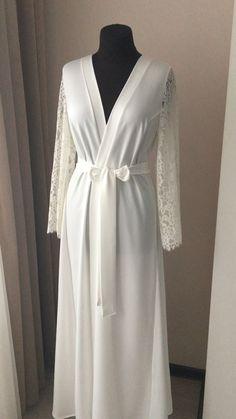 Pajamas For Women Sleepwear Cotton Night Gowns Online Cute Night Dress – pitayatal Lace Bridal Robe, Bridal Robes, Bridal Lingerie, Lace Lingerie, Fancy Wedding Dresses, Honeymoon Lingerie, Sewing Lingerie, Night Dress For Women, Gowns Online