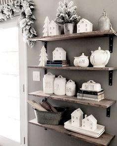 Rae Dunn, farmhouse, Christmas, Target little white houses