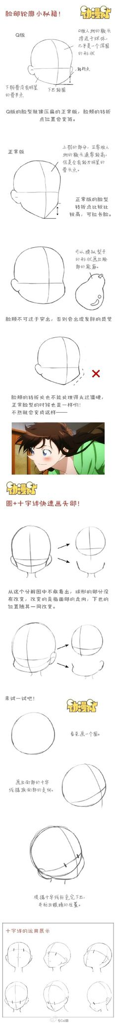 Basically how to draw nichijou characters