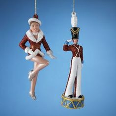 ksa pack of 24 rockette dancer and toy soldier christmas ornaments dance and ballerina - Toy Soldier Christmas Decoration