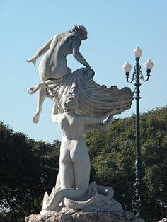 -Las Nereidas- Lola Mora. La rebelde del marmol (escultora Argentina)