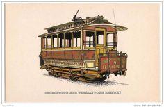 Tranvía de Georgetown DC, USA