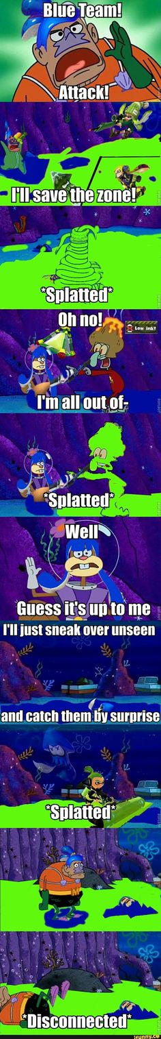 Splatoon in a nutshell