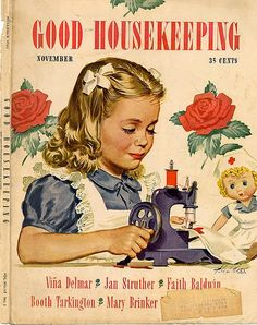 A Vintage Cottage Home: 1940's Good Housekeeping Magazine!