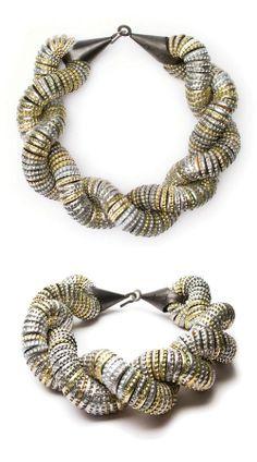 Klimt02: Berwanger, Tissa jewelry design unique handmade jewelry images jewelers