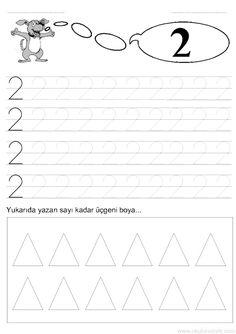 2 sayısı rakamı çalışma sayfası ve 2 rakamı yazma çalışmaları etkinlikleri oyunları, kağıdı indirme çıktı alıp yazdırma. Free numbers worksheets download and printable preschool kids.
