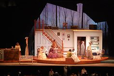Little Women. Scenic design by Robin Vest. 2008