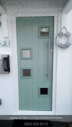 Check out this abstract beauty! Design, price and order your bespoke door online instantly! Timber Composite Doors are the UKs Supplier and installer! All Doors come with Finance available Contemporary Front Doors, Modern Contemporary, Green Front Doors, Doors Online, Composite Door, French Grey, Duck Egg Blue, Door Design, Bespoke
