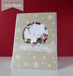 winnie & walter blog: Winter Wonderland | Season's Greetings with Laura