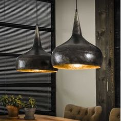 Hanglamp in oudzilver Suspension Bar, Suspension Vintage, Drop Lights, Hanging Lights, Pendant Lamp, Pendant Lighting, Futuristic Interior, Dining Room Design, Light Table