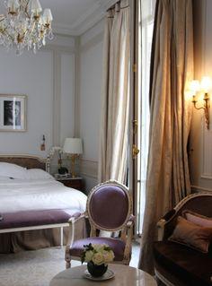 Apartment at Le Meurice hotel, Paris ...