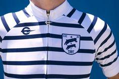 Fashion, cycling, stripes
