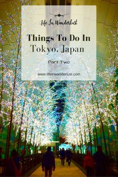 Things To Do In Tokyo, Japan - Part 2
