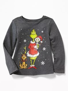 Dr. Seuss' The Grinch Tee for Toddler Girls