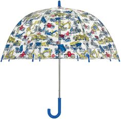 Trucks and Diggers Kids Umbrella Kids Umbrellas, Singing In The Rain, Digger, Cath Kidston, Dear Santa, Kids Gifts, Little Ones, Trucks, Style
