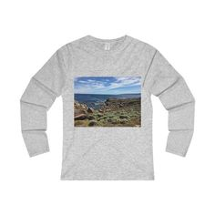 A tiny slice of so many wonders of nature / Ladies' Long Sleeve T-Shirt