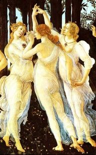 Botticelli's three graces