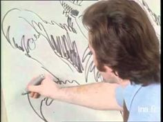 Moebius, Neal Adams, and Joe Kubert sketching head to head (1972) #Moebius