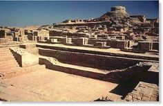 """The history of India, apparently date back to the """"The Indus Valley Civilization"""" - BCE). It is also proud to be one of the earliest civilisation along with Ancient Egypt and Mesopotamia. Indus civilisation was inhabited by over 5 million people. Bronze Age Civilization, Indus Valley Civilization, Cradle Of Civilization, Ancient Mysteries, Ancient Ruins, Ancient History, Ancient Egypt, Ancient Artifacts, Mohenjo Daro"""