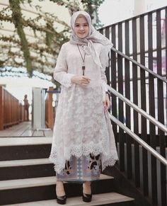 Image may contain: 1 person, standing, child and outdoor Kebaya Modern Hijab, Kebaya Hijab, Kebaya Brokat, Dress Brokat, Kebaya Muslim, Muslim Dress, Kebaya Lace, Kebaya Dress, Batik Fashion