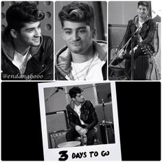 just captured the sneak peek of #LittleThings 3 Days To Go with Zayn :)