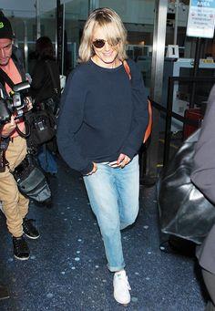 Taylor Schilling's Madewell Picks: The Boyfriend Jeans & Indio Sunglasses