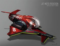 Jet Moto Redesign on CCS Portfolios