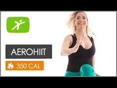 Exercícios para Perder Barriga - Aula de AeroHiit #8 - YouTube