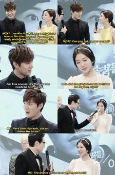 Lee Min Ho & Park Shin Hye - If she wasn't so shy those kisses would have been amazing...but I still love them 2...<3