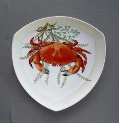 866 6 Part Of Crab Set 866 Canvas Print / Canvas Art by Wilma Manhardt