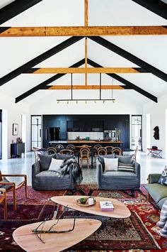 Built on their property in Brook Downs, Peter and Tracy Fleming finally built their dream farmhouse complete with cathedral ceilings and a large stone fireplace.