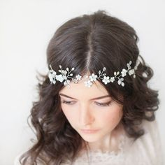 Wedding Hair Vine.Bridal Headpiece.Bridal от SvetloDesign на Etsy
