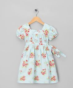 Love this Blue Evie Dress - Infant, Toddler & Girls by Powell Craft on #zulily! #zulilyfinds