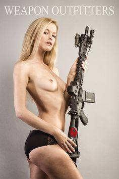Nude Women With Weapons