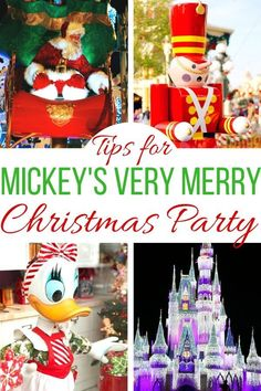 Enjoy everything at Mickey's Very Merry Christmas Party with these tips! Make the most of your party time with Mickey! Mickey's Very Merry Christmas, Disney Christmas, Disney Holidays, Christmas Diy, Disney World Tips And Tricks, Disney Tips, Walt Disney World Vacations, Disney Travel, Disney Cruise