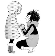 I dont know what manga it is. But its ADORABLE.