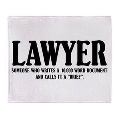 Lawyer definition