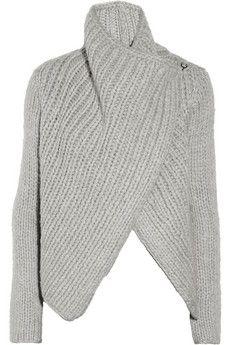 Chunky-knit wool-blend cardigan ($500-5000) - Svpply