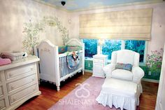 Rose Garden Nursery by @ShalenaSmith Interior Design