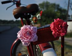 beautiful bicycle flowers  available from my website www.bikebelle.pl