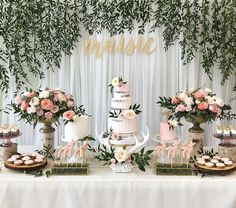A One-DEER-ful birthday celebration for sweet Maisie. Loved designing this super feminine party with soft pink tones, gold accents and hints of deer antlers to go with the theme. Planning, Styling & Florals @stylechicevents. Gorgeous cake trio @sweetnsaucyshop. Adorable mini desserts @sweetsbykeeks. Special thanks to our client @janekyeo for trusting us with your special day and to @euniyou for always being so amazing! ❤️