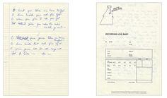Fat Bottomed Girls - Freddie Mercury hand-written lyrics - Queen Photo (20237209) - Fanpop