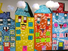 Cassie Stephens: In the Art Room: Rizzi City by Third Grade