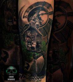 Tattoo casa en el arbol