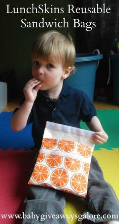 LunchSkins #Reusable Sandwich Bags