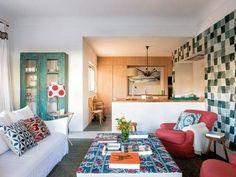 Une maison en couleurs pour l'été