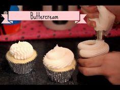 Ganache no ponto certo para cobrir cupcake - YouTube