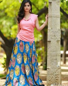 Nabha natesh erotic cleavage queen Bollywood and tollywood with her curvy body show. Hot and sexy Indian actress very sensuous thunder thigh. Long Skirt And Top, Long Silk Skirt, Long Skirts, Maxi Skirts, Cotton Skirt, Indian Gowns Dresses, Pakistani Dresses, Indian Attire, Indian Outfits